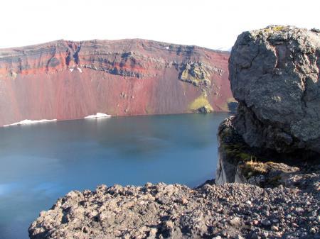 Volcan ras du sol