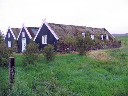 Maisons en tourbe
