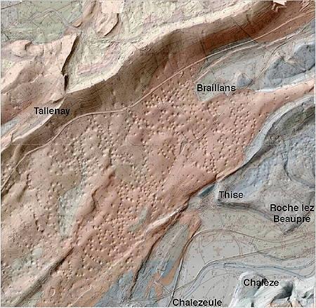 géologie,jura,franche-comté,jurassique,thise,faisceau bisontin,avants monts jurassiens,doubs,patrick rolin