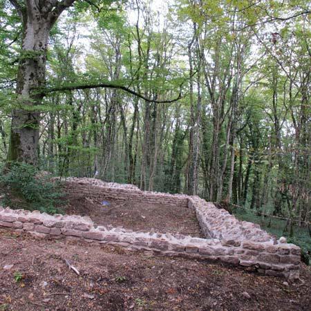 chapelle saint-gengoul,forêt de chailluz,catherine fruchart